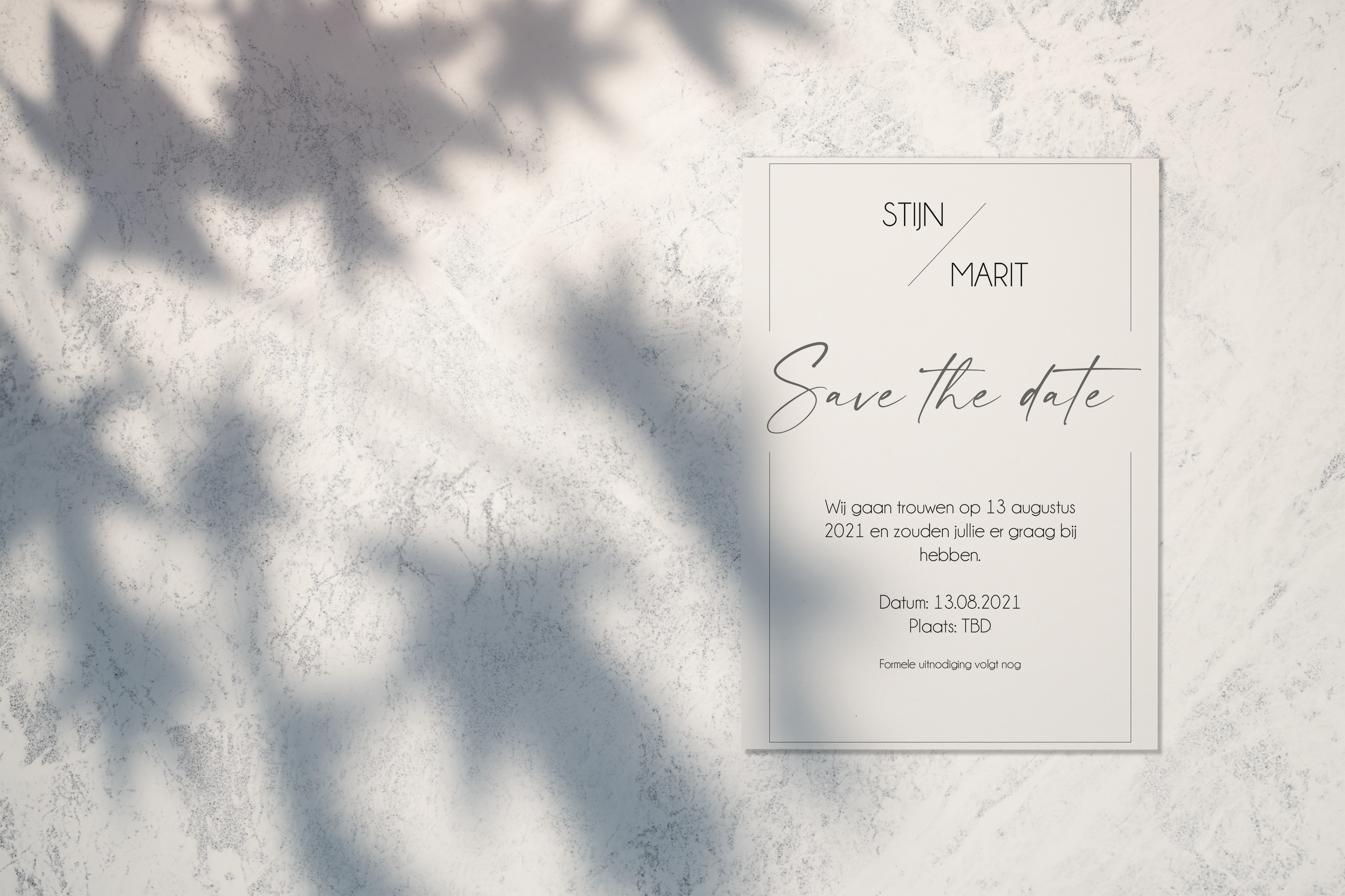 Save the Date Joan of Art